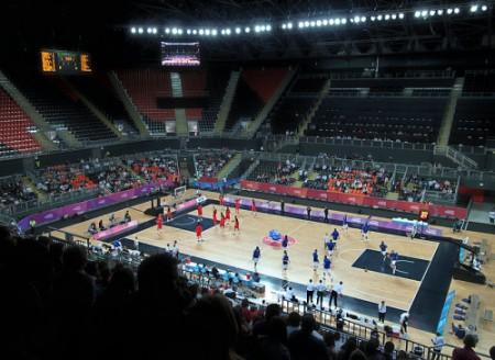 2012 london olympics sustainability - London Olympics 2012 Basketball arena