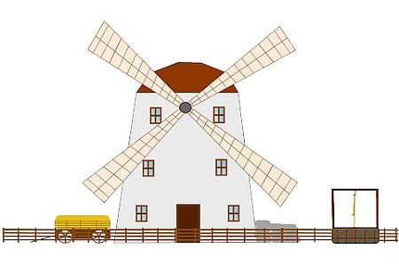 The London Array Wind farm - Wind Mill