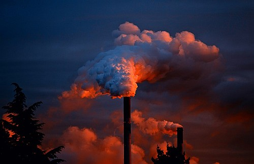 Global warming fact or fiction - smoke stacks