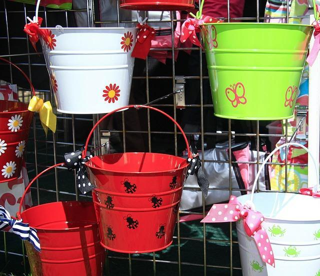 Hand Craft Guide painted flower pots