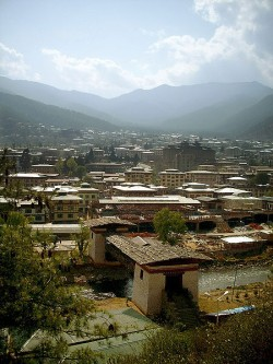 Bhutan Tourism - Thimphu city