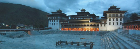 Bhutan Tourism - Tshechuground