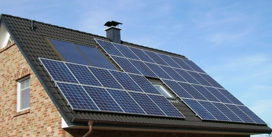 Build your own solar panels - Solar panels on roof