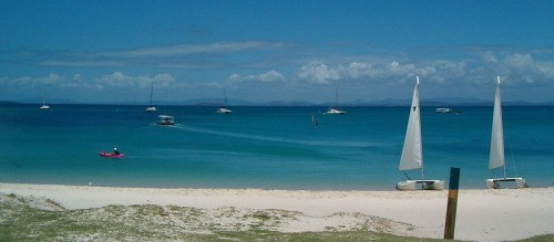 Eco friendly holidays Queensland - Great Keppel Island beach