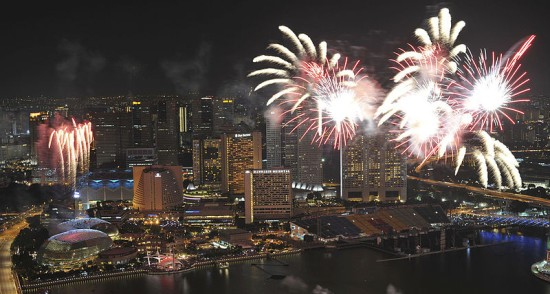 Eco friendly homes - Singapore fireworks