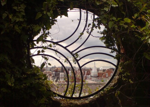 Green City - Kensington roof gardens window
