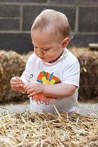 Organic Food Benefits - Start them young