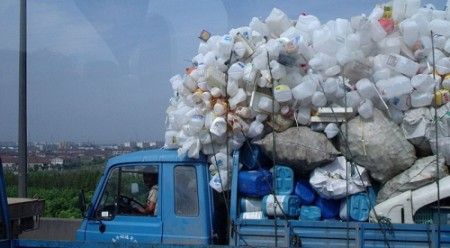 Recyling tips - Recycling truck, China