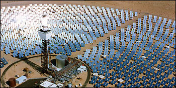 Solar energy pictures - Solar 2- Experimental power plant