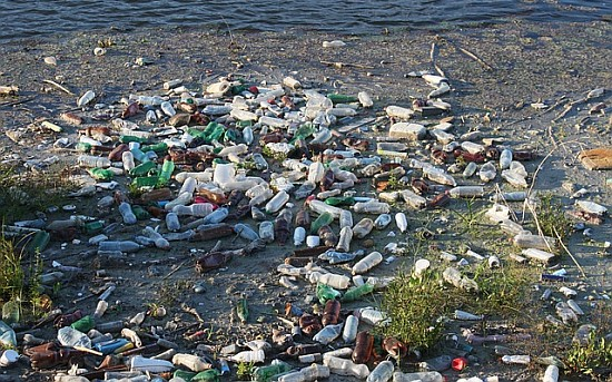 North pacific plastic waste