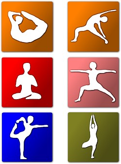 Yoga and weight loss positions