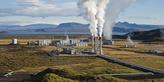 geothermal heating and cooling - Nesjavellir Power Plant, Iceland