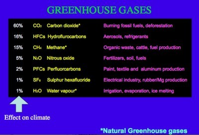 Greenhouse Effect Arctic Ocean 1
