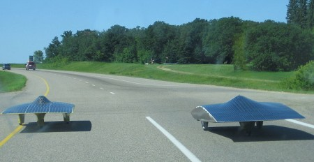 Solar powered vehicles - solar energy pictures